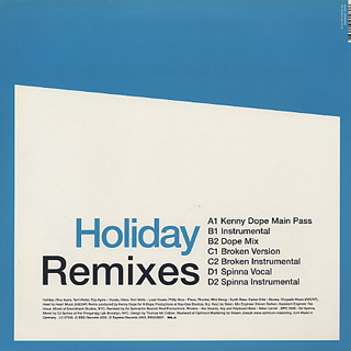 Roy Ayers / Holiday (Virgin Ubiquity Remixes) back