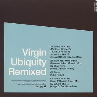 Roy Ayers / Virgin Ubiquity Remixed EP 4 back