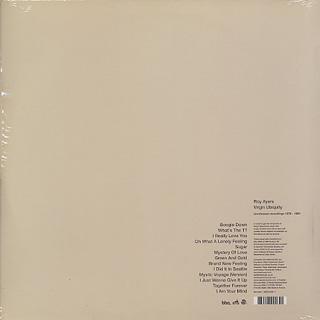 Roy Ayers / Virgin Ubiquity(Unreleased Recordings 1976-1981) back