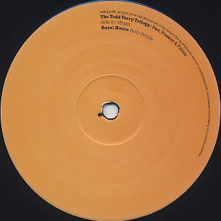 Royal House / The Todd Terry Trilogy: Past, Present & Future label