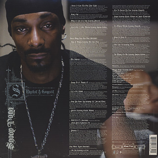Snoop Dogg / R & G (Rhythm & Gangsta): The Masterpiece (2LP) back