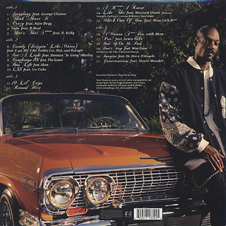 Snoop Dogg / Tha Blue Carpet Treatment (2LP) back