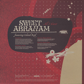 Sweet Abraham / All I Want back