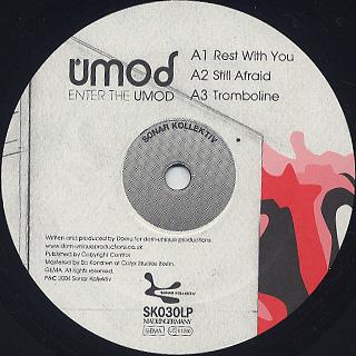 Umod / Enter The Umod label