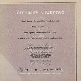 V.A. / Off Limits 3 Part Two back