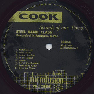 V.A. / Steel Band Clash label