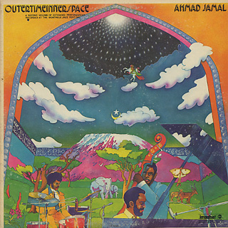 Ahmad Jamal / Outertimeinnerspace front