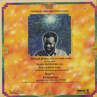 Ahmad Jamal / Outertimeinnerspace back
