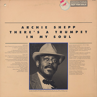 Archie Shepp / There's A Trumpet In My Soul back