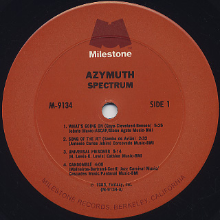 Azymuth / Spectrum label