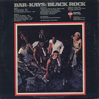 Bar-Kays / Black Rock back