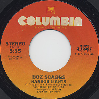 Boz Scaggs / Lowdown (7