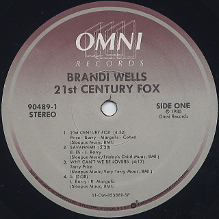 Brandi Wells / 21st Century Fox label