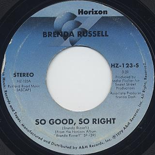 Brenda Russell / So Good, So Right