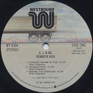 C.J. & Co. / Deadeye Dick label