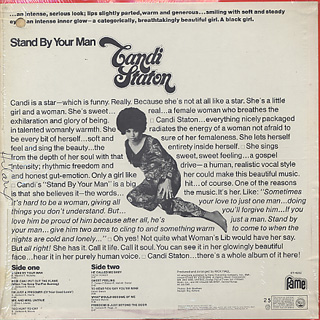 Candi Staton / Stand By Your Man back