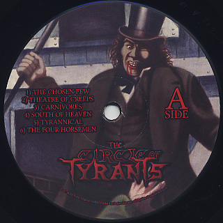Circle Of Tyrants / S.T. label