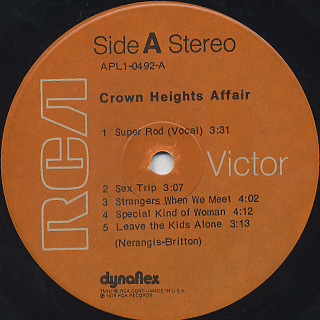 Crown Heights Affair / S.T. label