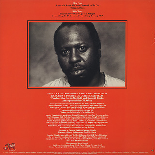 Curtis Mayfield / Something To Believe In back