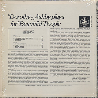 Dorothy Ashby / Dorothy Ashby Plays For Beautiful People back
