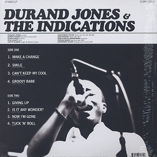 Durand Jones & The Indications / S.T. back