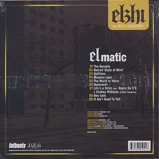 Elzhi / Elmatic back