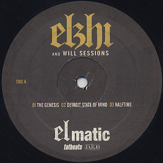 Elzhi / Elmatic label