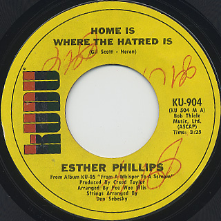 Esther Phillips / Home Is Where The Hatred Is (7
