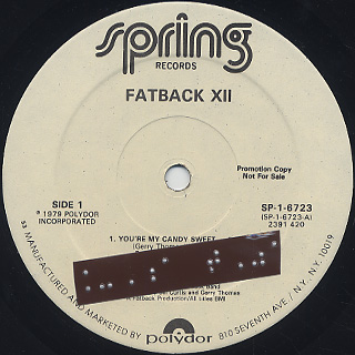 Fatback / XII label
