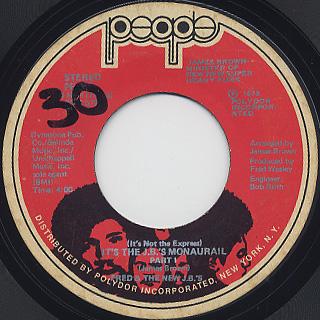 Fred & The New J.B.'s / (It's Not The Express) It's The J.B.'s Monaurail