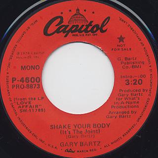 Gary Bartz / Shake Your Body (7