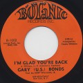 Gary(U.S.) Bonds / I'm Glad You're Back c/w Funky Lie-1