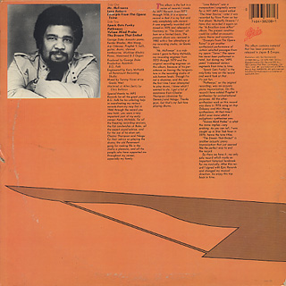 George Duke / The 1976 Solo Keyboard Album back