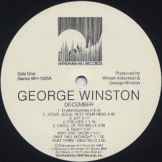 George Winston / December label