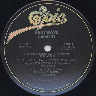 Heatwave / Current label