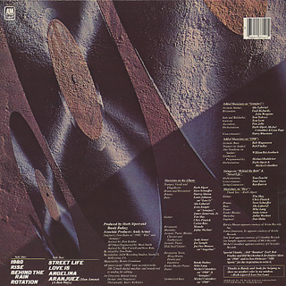 Herb Alpert / Rise back