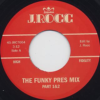 J Rocc / Funky President Edits Vol 4 back