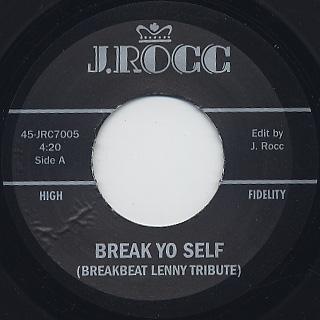 J Rocc / Funky President Edits Vol.5 back