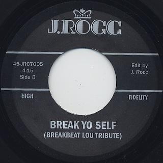 J Rocc / Funky President Edits Vol.5 label
