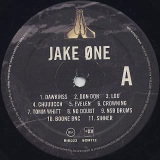 Jake One / Prayer Hands label
