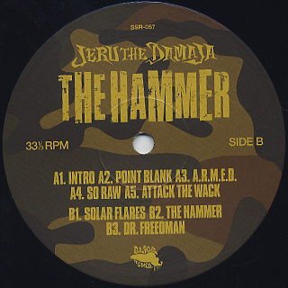 Jeru The Damaja / The Hammer label