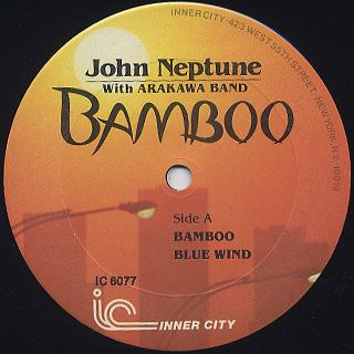 John Neptune With Arakawa Band / Bamboo label