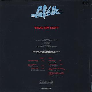 La Velle / Brand New Start back