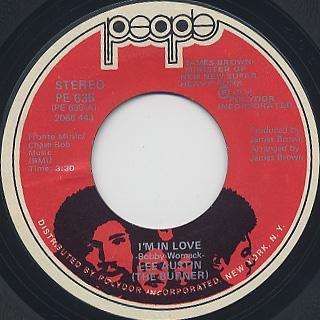 Lee Austin(The Burner) / I'm In Love