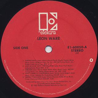 Leon Ware / Leon Ware label