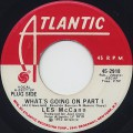 Les McCann / What's Going On Part 1