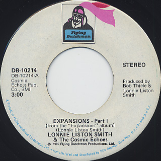 Lonnie Liston Smith & The Cosmic Echoes / Expansions (45) front