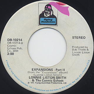 Lonnie Liston Smith & The Cosmic Echoes / Expansions (45) back