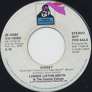 Lonnie Liston Smith and The Cosmic Echo / A Chance For Peace (7