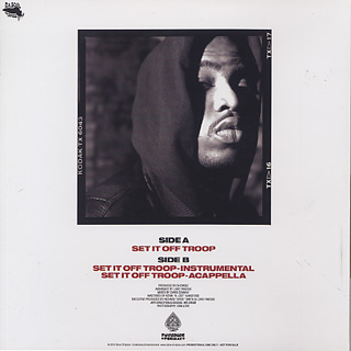 Lord Finesse / Set It Off Troop (Remastered) back